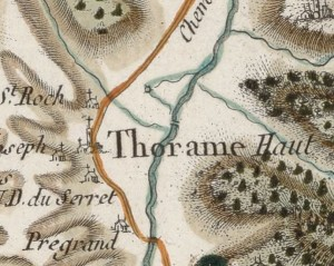 Carte Cassini Pont du Moulin - geoportail