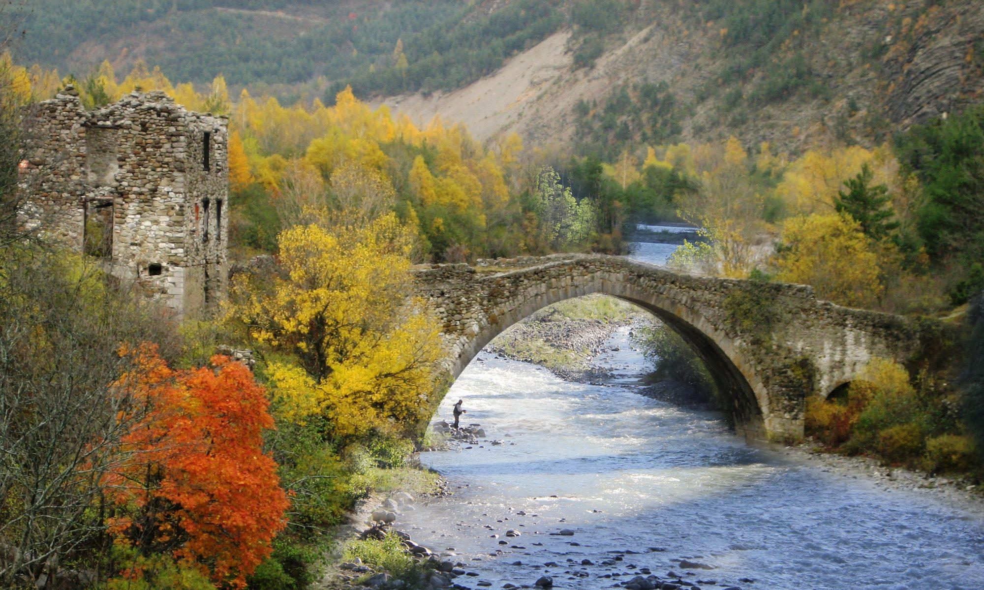 Thorame-Haute Pont du moulin